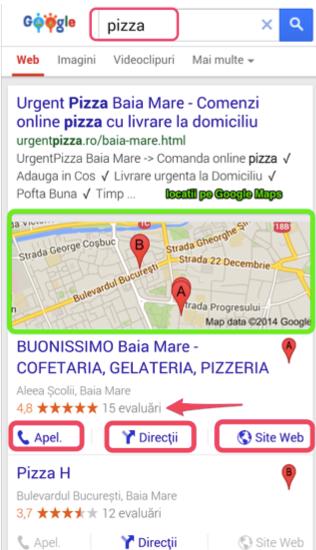 rezultate cautare locala